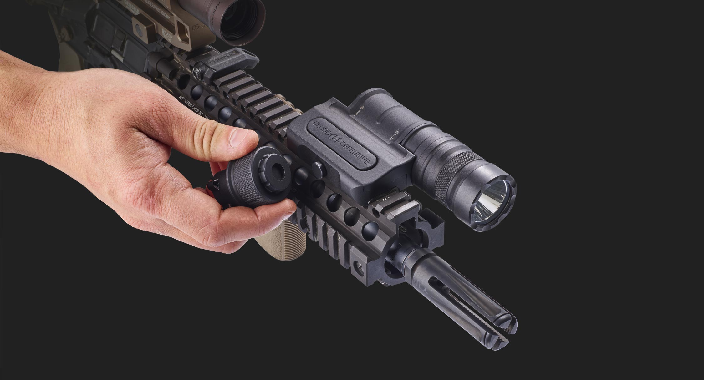 Optimized Weapon Light Integrated Tool