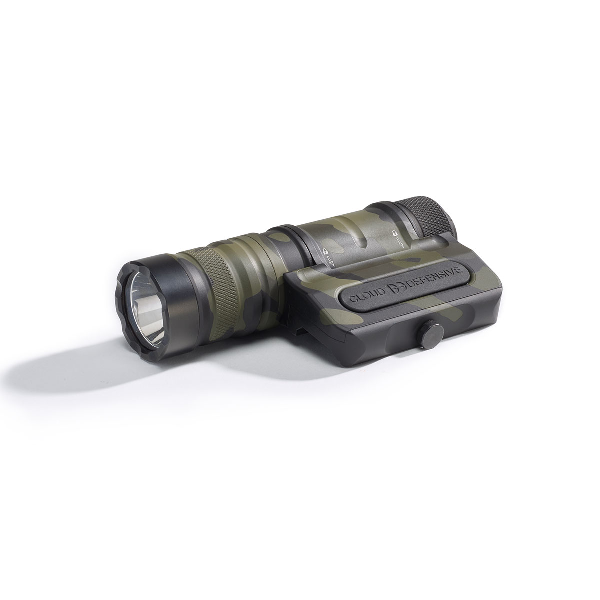 Optimized Weapon Light MultiCam Black Front